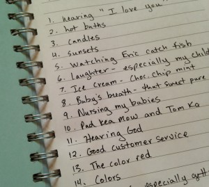 My first Happy Journal entries