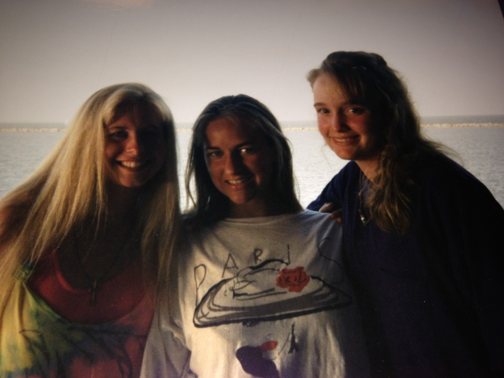 This old picture is from 1994.  These girls, Angela and Jessica are two of my forever friends.  These girls have been with me though a whole lot of stuff.   I thank God for them in my life!
