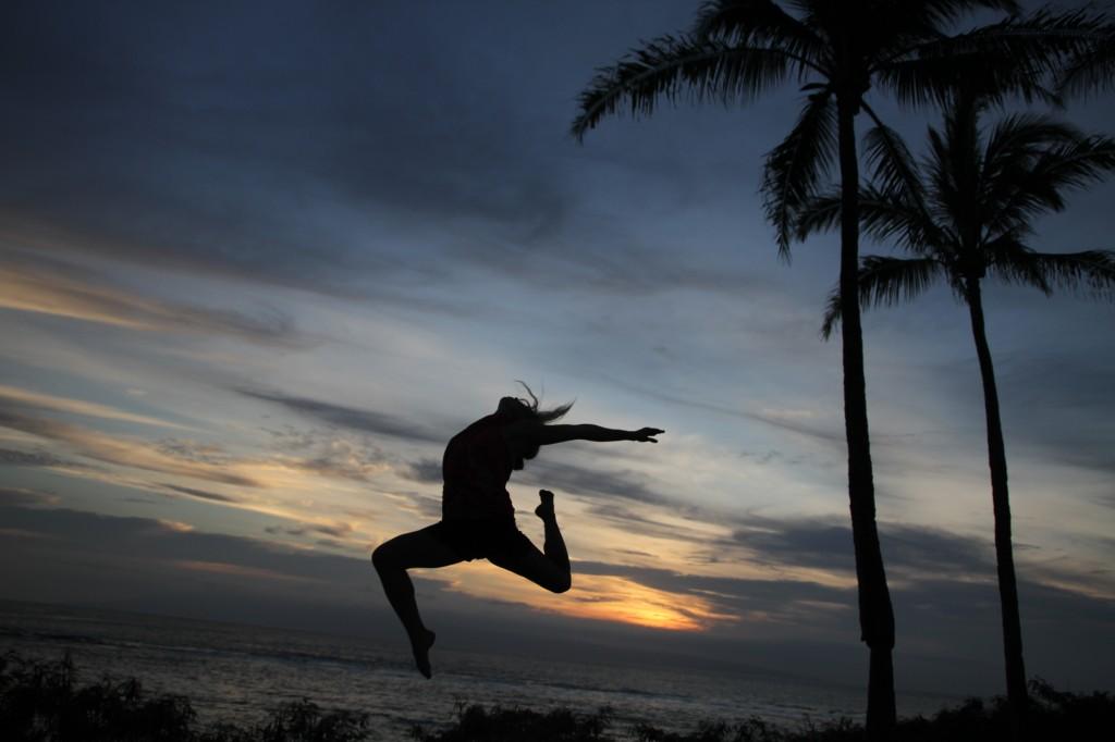 Dancing in Maui