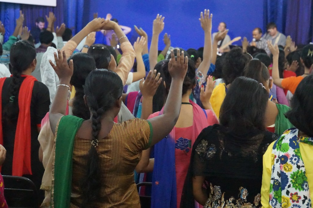 We experienced powerful times of worship in India.